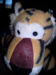 Tiger ohramputiert